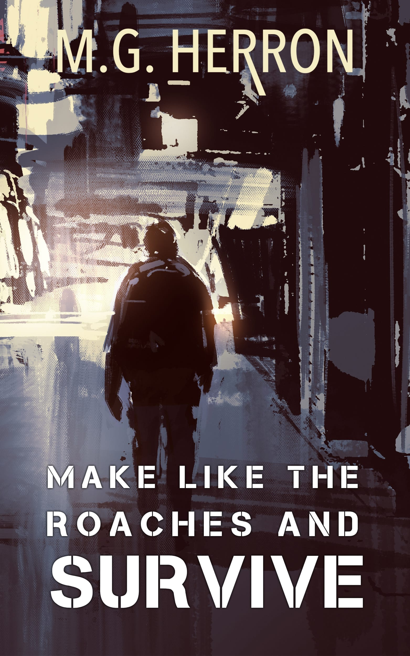 Make like the roaches ebook cover