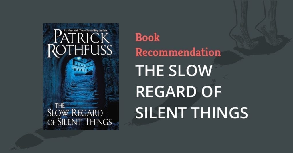 Book Recommendation: THE SLOW REGARD OF SILENT THINGS