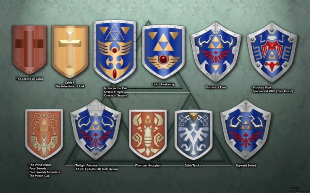 Link's shields