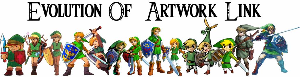 Evolution of Link Artwork