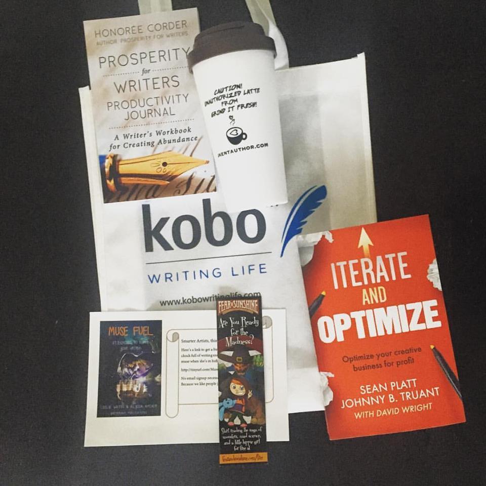Smarter Artist Summit 2016 swag bag