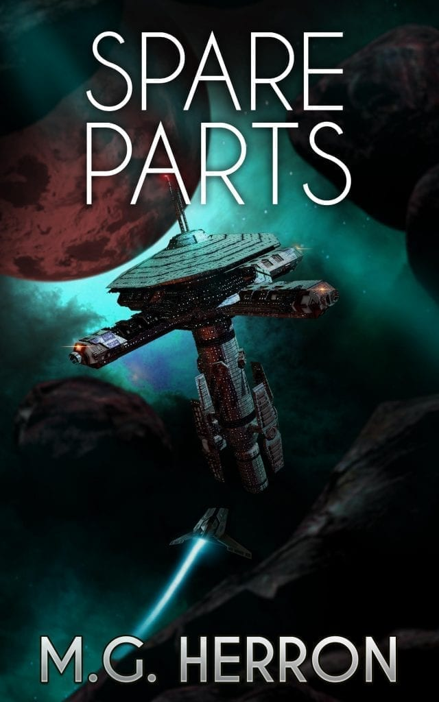 Cover of Spare Parts by M.G. Herron