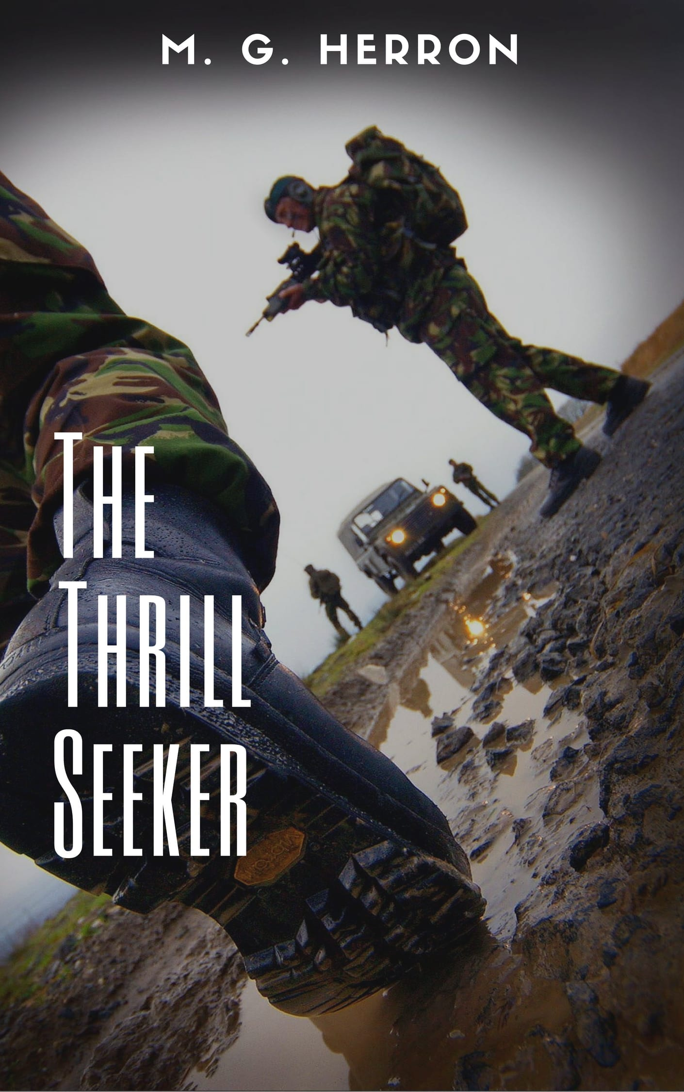 The Thrill Seeker, a literary story, ebook cover