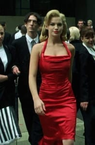 The Woman in the Red Dress